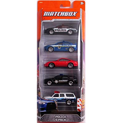 Matchbox 60th Anniversary Police 5-Pack: Toys & Games