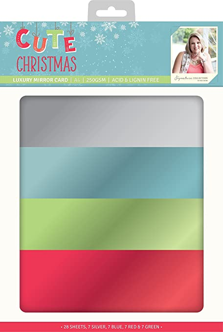 Sara Signature Cute Christmas-Luxury Mirror Card, paper ...