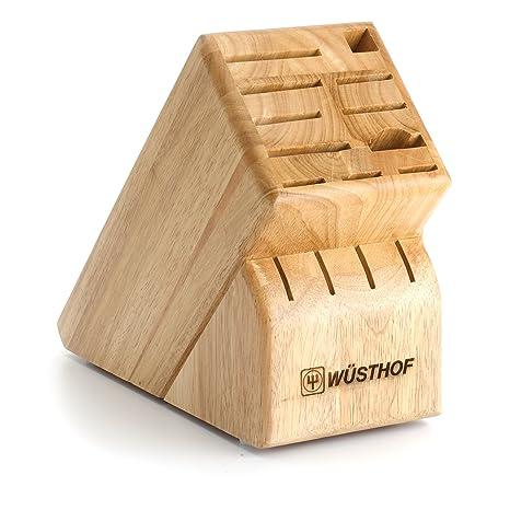 Amazon.com: Wüsthof 15-slot bloque de cuchillos, Beige ...