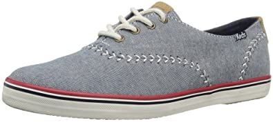e99b7ad22f92f Keds Women s Champion Pennant Fashion Sneaker Dark Blue 5.5 ...