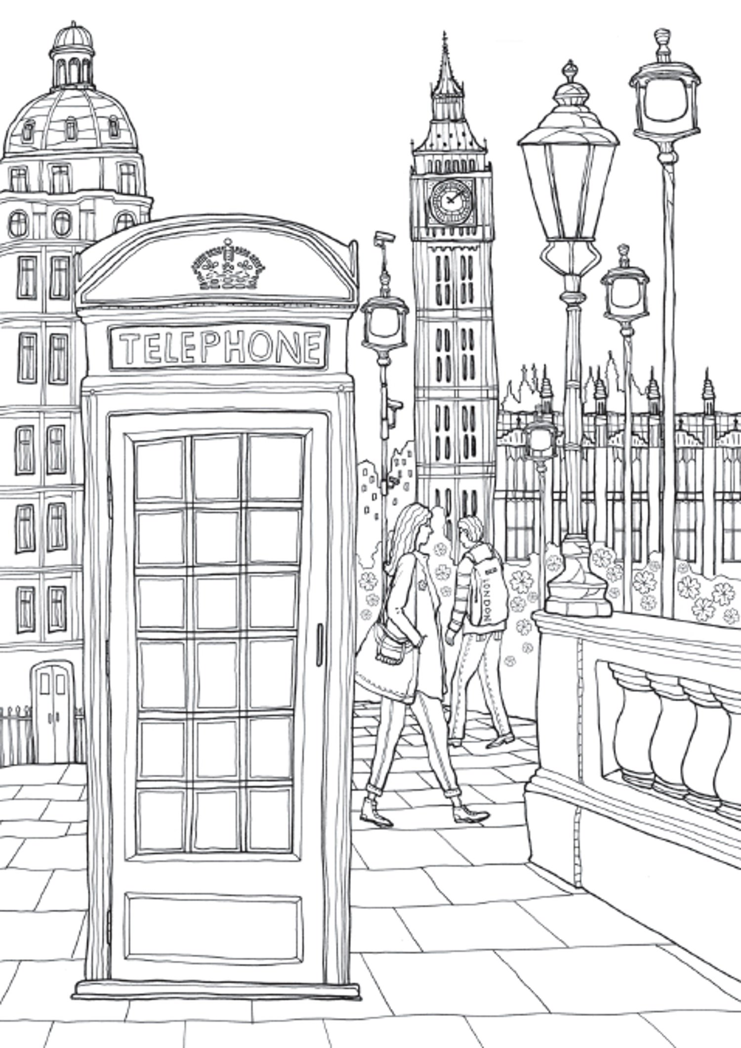 Coloring Europe Charming London Complete Overview For