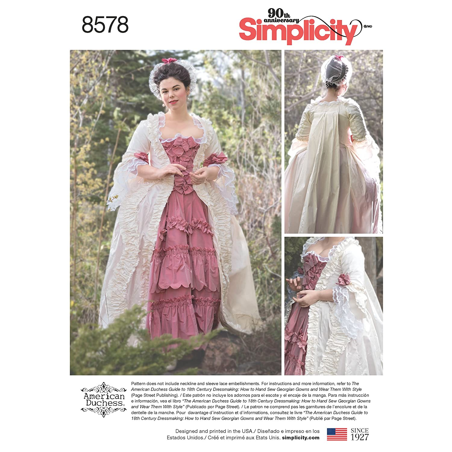 Simplicity Creative Patterns 18th Century Costumes, 14