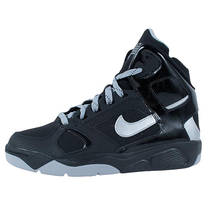 sports shoes 9e25d f4d61 Amazon.com  Nike Flight Lite Basketball Gradeschool Boys Basketball Shoes  Size US 5.5, Regular Width, Color BlackWhite  Basketball