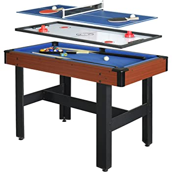Amazoncom Sportcraft Inch Games In Swivel Table - Sportcraft 3 in 1 pool table