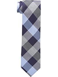 Cole Haan Men's Bushwick Exploded Plaid Tie