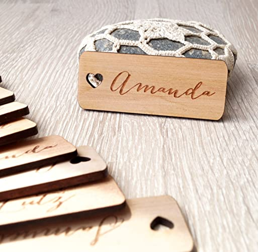 Fantastic Amazon.com: Wedding place tags, wedding place cards, wedding name  RL65