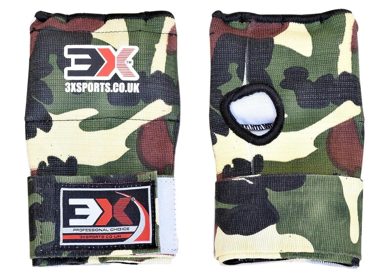 PROFESSIONAL CHOICE 3X Formation Int/érieure Gants MMA Arts Martiaux Muay Thai Boxe Int/érieure Rapide Wrap Wrap Bandages Gel Rembourr/é