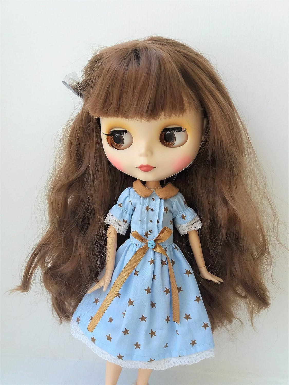Blythe dress Blythe Summer dress Blythe blue dress