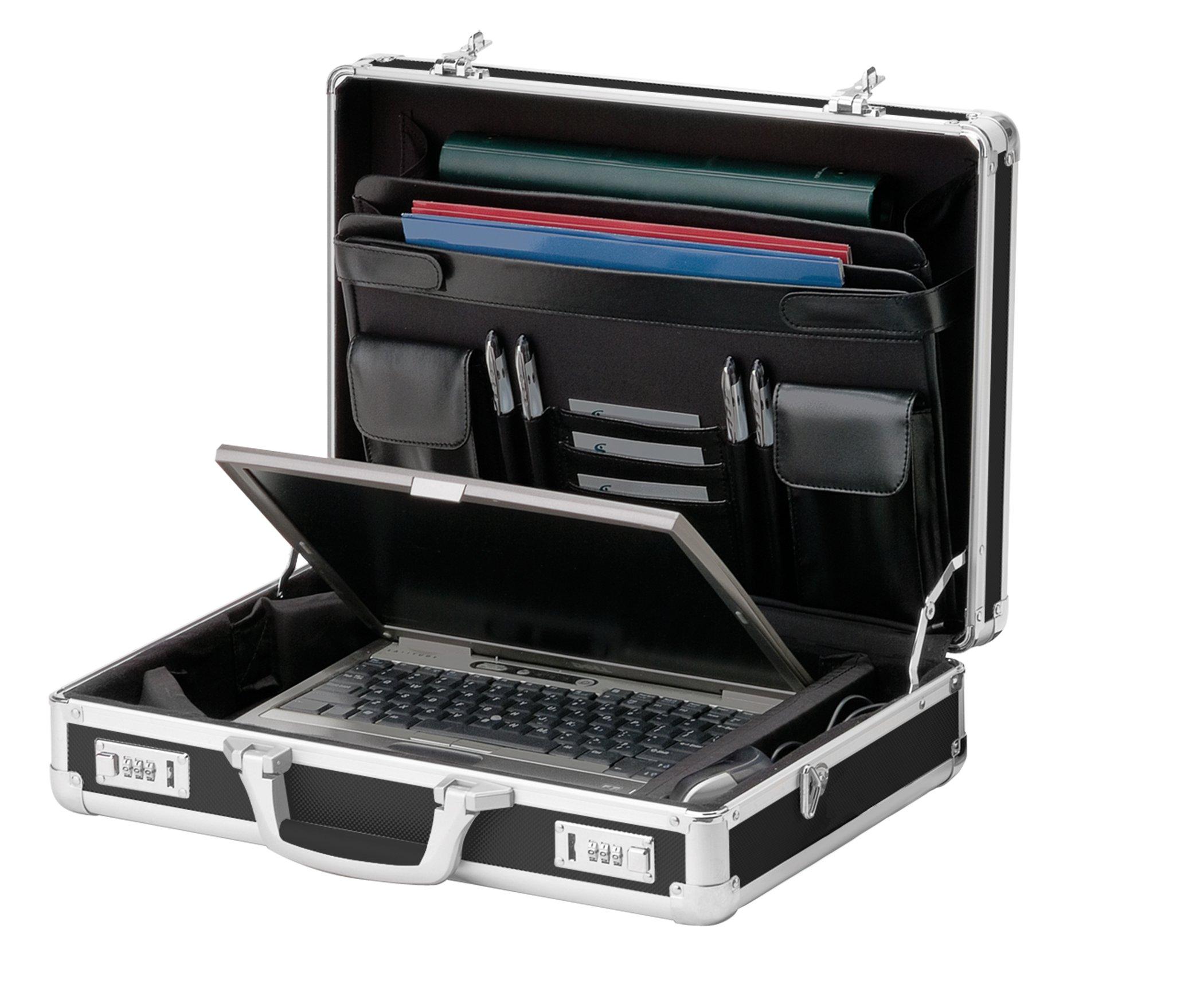 Vaultz Locking Laptop Case, Black (VZ01216) by Vaultz (Image #1)