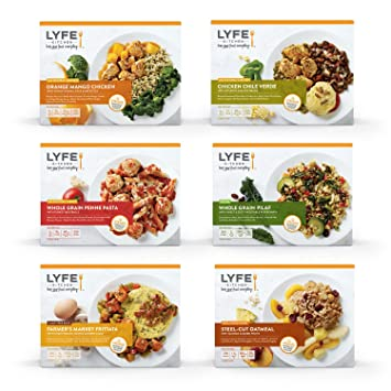 Lyfe Kitchen Breakfast Lunch And Dinner 15 Meal Variety Pack B