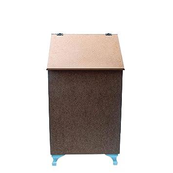 Ahşap Boyama Hobi Kirli çamaşir Sepeti 43 79 32 Cm Amazoncomtr