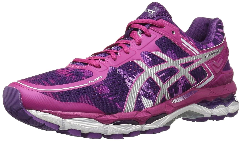 ASICS Women's GEL-Kayano 22 Running Shoe B00XZ791SW 5 B(M) US Purple/Silver/Pink Glow