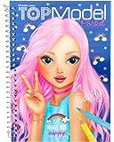 TOPModel 7857, Album da colorare 3d + stickers