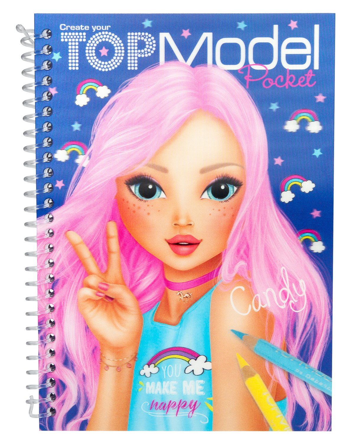 Top model ALBUM DE POCHE 3D violet KONTIKI D317857