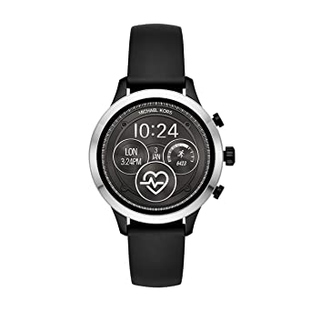 e8b60f045550 Image Unavailable. Image not available for. Color  Michael Kors Women s  Access Runway Touchscreen Watch with Stainless Steel and Silicone Strap ...