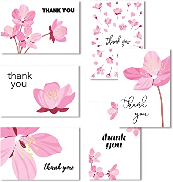 Amazon.com: Cavepop - Tarjetas de agradecimiento con sobres ...