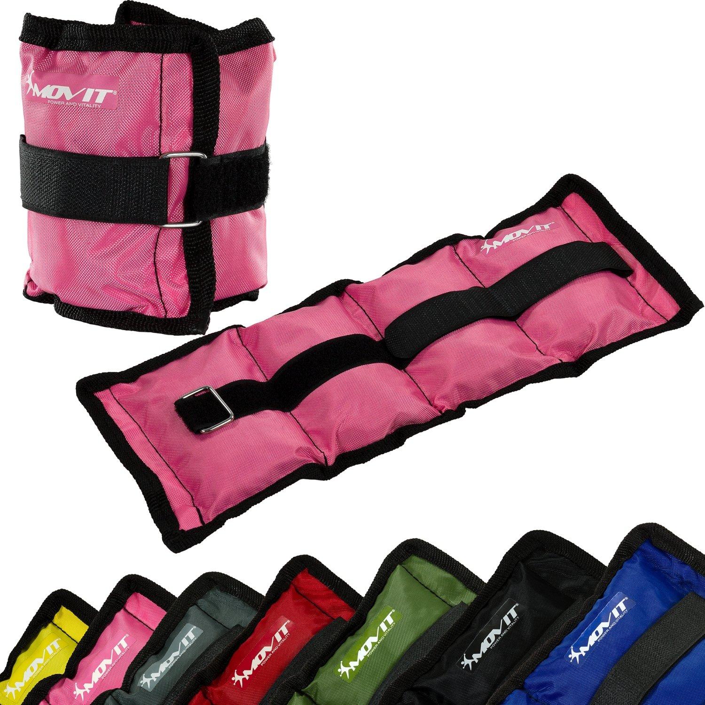 MOVIT® Twin Set de pesas para muñeca  tobillo peso del brazo