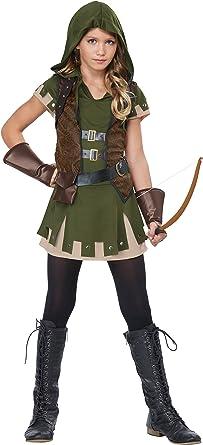 Disfraz de Robin Hood de la niña: Amazon.es: Juguetes y juegos