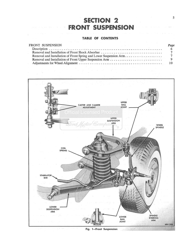 Bishko Automotive Literature 1956 Mercury Custom 56 Montclair Wiring Diagram Monterey Shop Service Repair Book Manual Engine