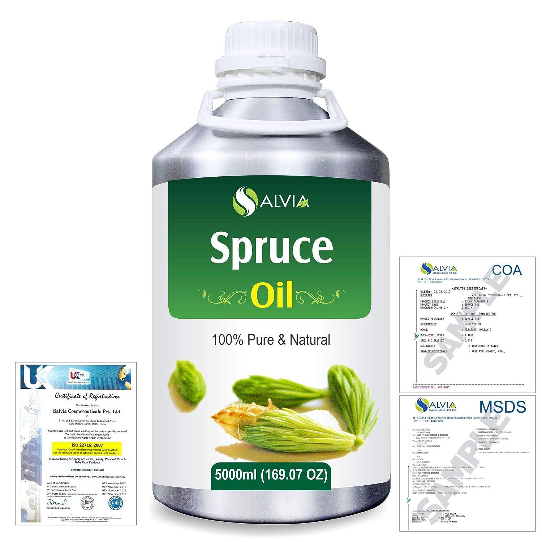 Spruce (Tsuga Canadensis) 100% Natural Pure Essential Oil 5000ml/169fl.oz. B07R3ZMH78