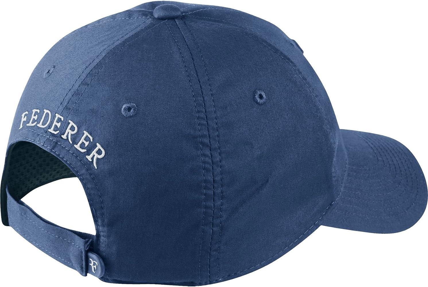 Nike Roger Federer RF Hybrid – Gorra de Tenis - 371202-010, Azul ...
