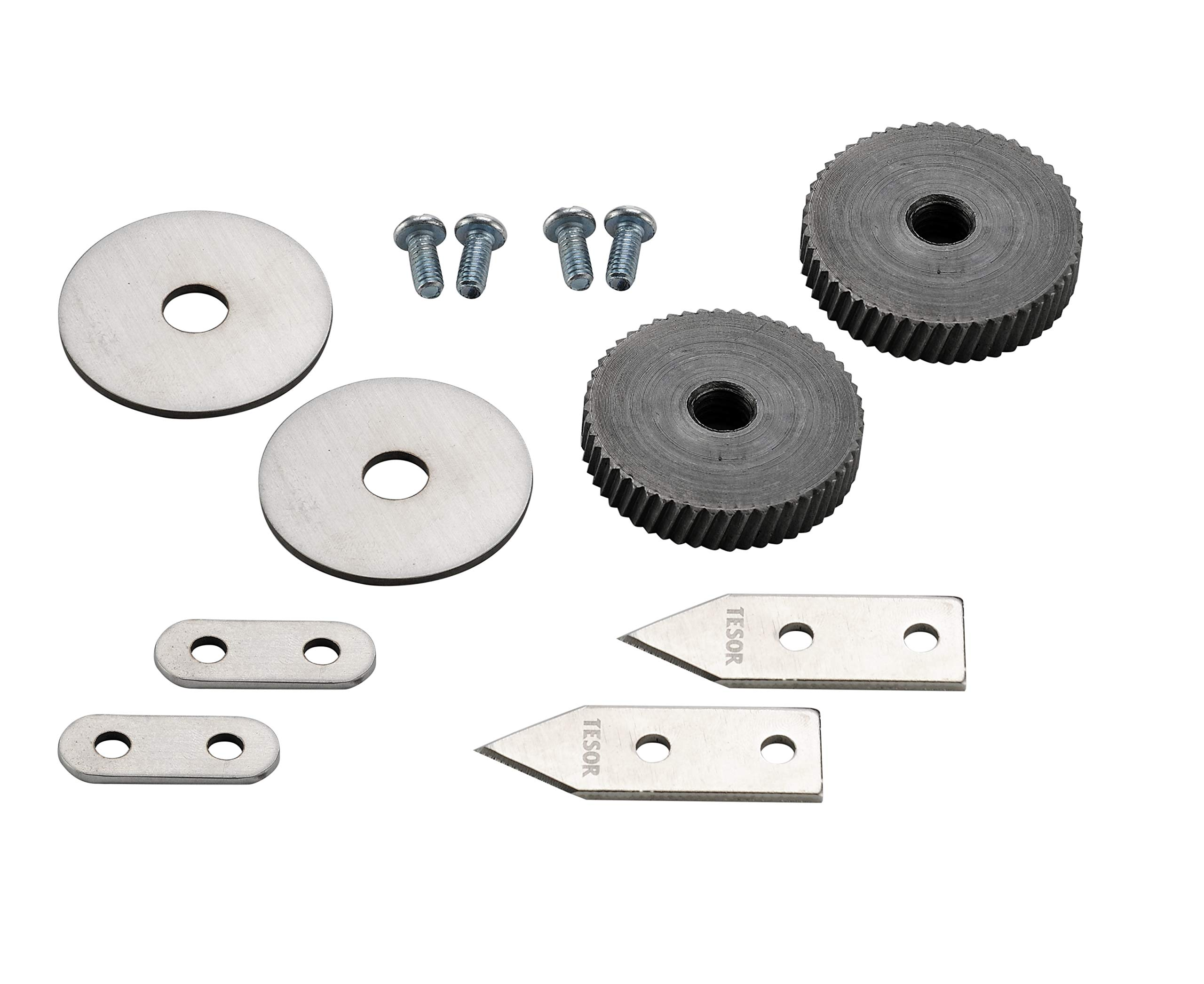 Replacement Parts - Knife/Blade & Gear Compatible with Edlund #1 Commercial Can Openers (#1 Size - 2 Pack) by Tesor