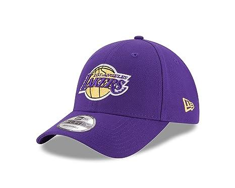 e71dbfecb71f1f Amazon.com: New Era NBA 9FORTY Los Angeles Lakers Hat The League ...