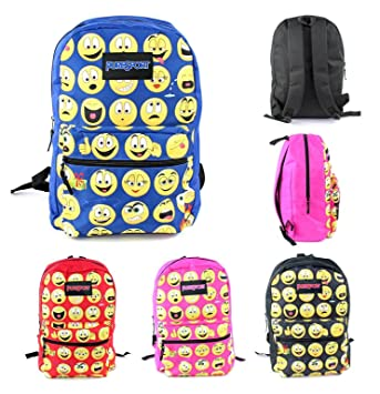 Image Unavailable. Image not available for. Color  PureSport 17 quot  Classic  Puresport Emoji Print Backpacks - Assorted ... 3be0f9884c4e2