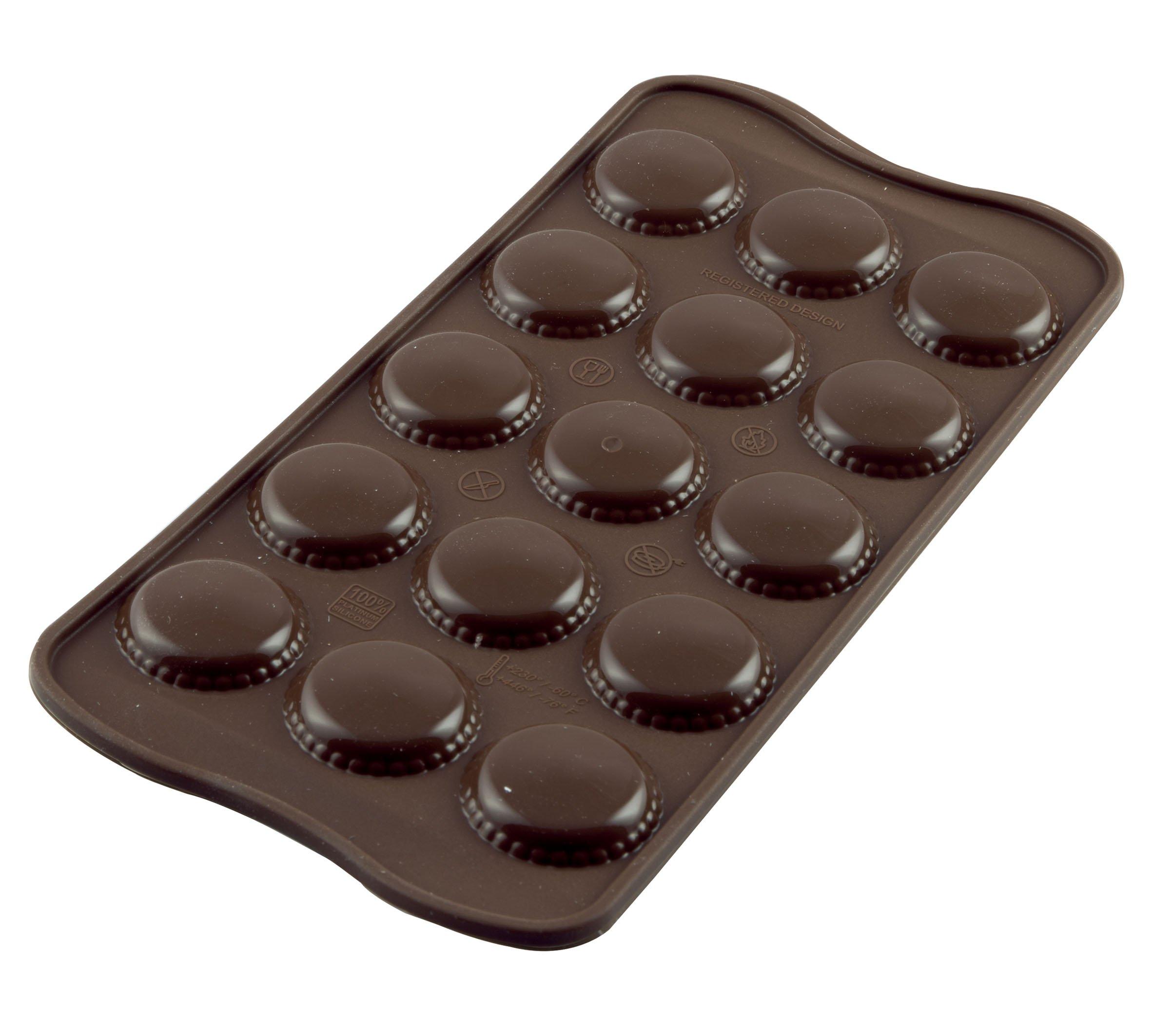 Silikomart Silicone Easy Chocolate Mold, Macaron by Silikomart