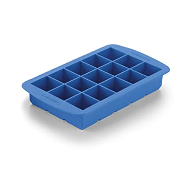 Cuisinart CTG-00-ICS Silicone Ice Cube Trays (2 Pack), 2.38 , Blue