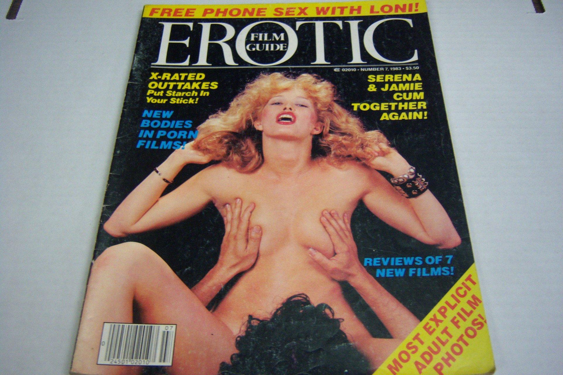 Amazon com: Erotic Film Guide Busty Adult Magazine