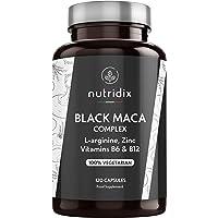 Nutridix Maca Negra Andina 1.200 mg por Dosis - Extracto Equivalente a 24.000 mg de…