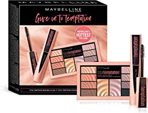 Maybelline Total Temptation Mascara and Eyeshadow and Cheek Palette Pack