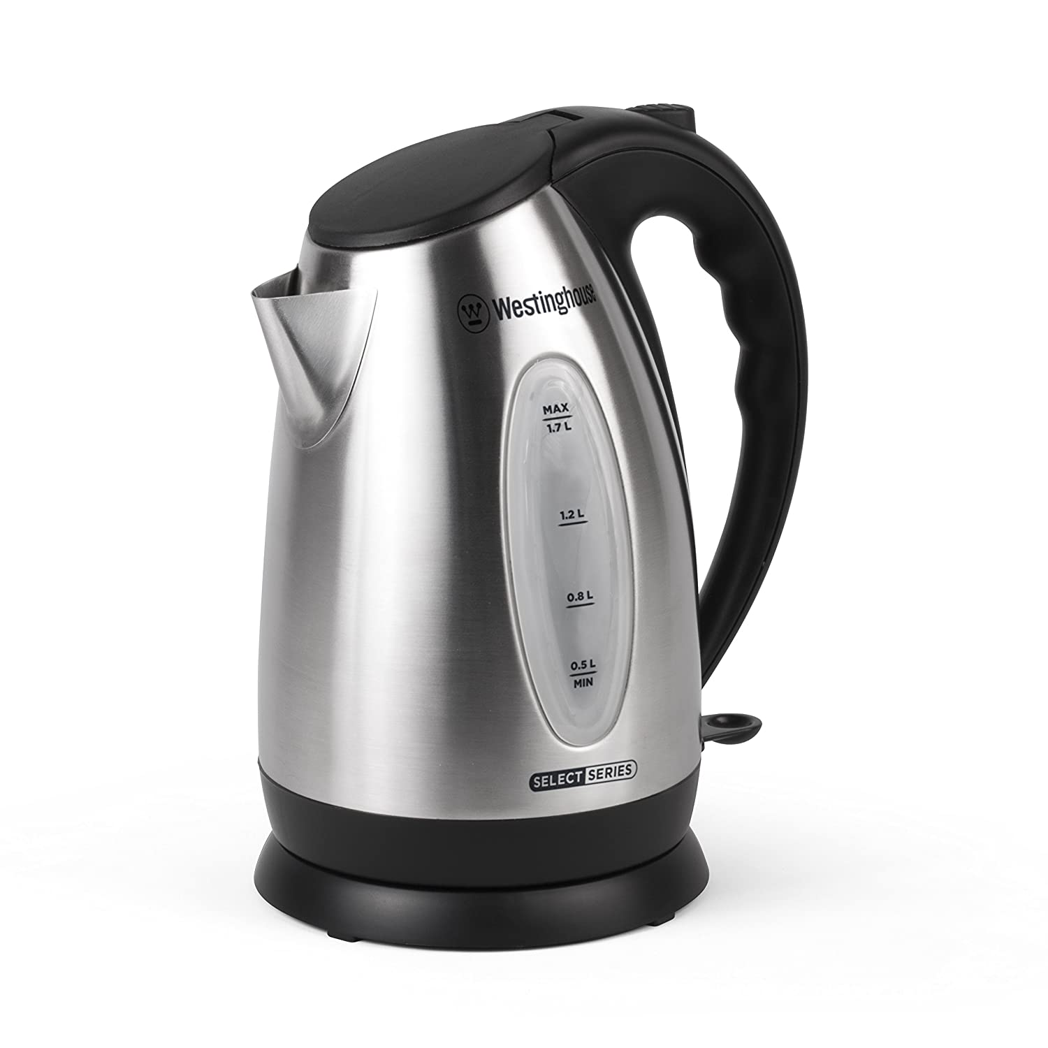 1.7 Liter Westinghouse Select Westinghouse WKE10SSA Select Series 7 Cup Stainless Steel Electric Kettle