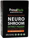 Nootropic, Memory & Cognitive Support - Neuro Shroom Extract Powder - Lion's Mane, Cordyceps, Reishi, Huperzia, Bacopa - 89 Servings