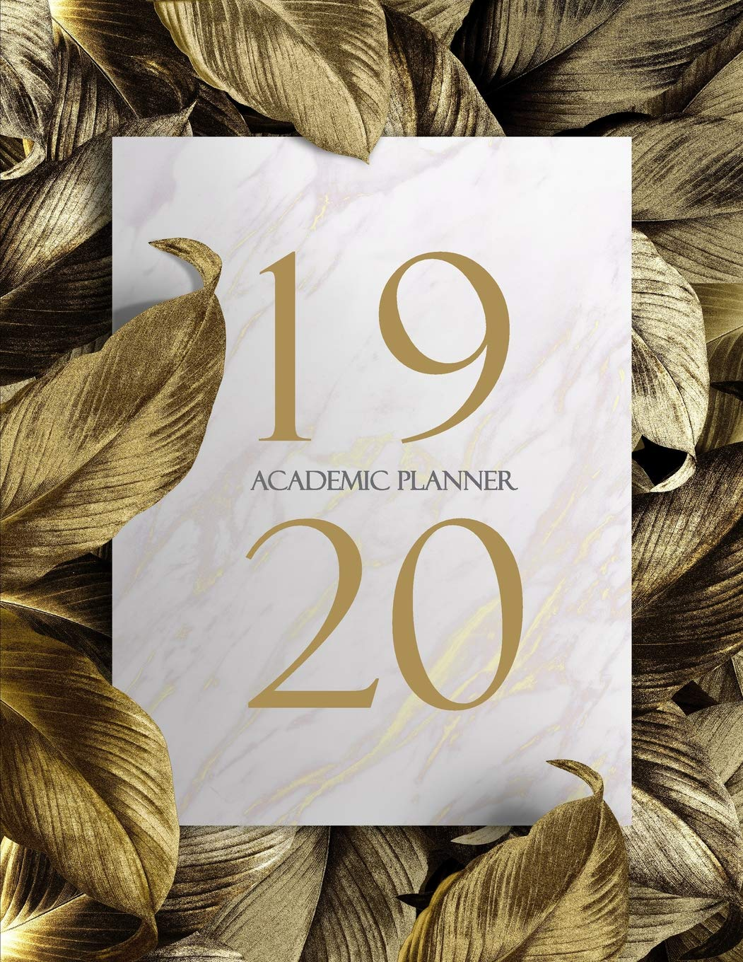 2019-2020 Academic Planner: Monthly Planner (June 2019 to ...