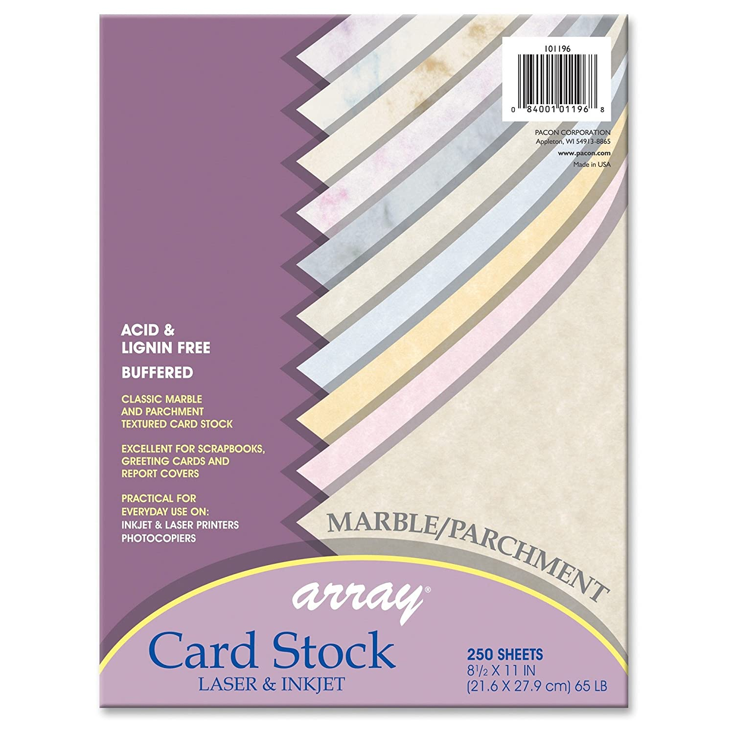 Multi colored cardstock paper - Amazon Com Pacon Card Stock Assortment 8 1 2 Inches By 11 Inches Mable Parchment Assortment 250 Sheets 101196 Cardstock Papers Office Products