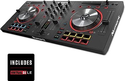 Amazon.com: Controlador USB para DJ Numark Mixtrack 3, con ...