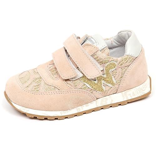 BALDUCCI E8550 Sneaker Bimba Girl Scarpe Pizzo Pink Gold Suede Tissue Shoe   Amazon.it  Scarpe e borse 5481d362308