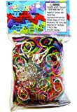Official Rainbow Looms - Colour Bands Mix (600 count) and 24 C-Clips