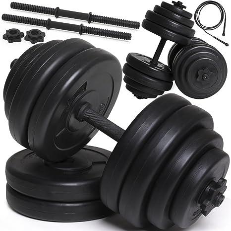 Hantelstange Hantelklemme Fitness Fitnessstudio Gewichtheben Kaige 1 Paar 30 mm Halsb/änder Hantel Hantelverschluss
