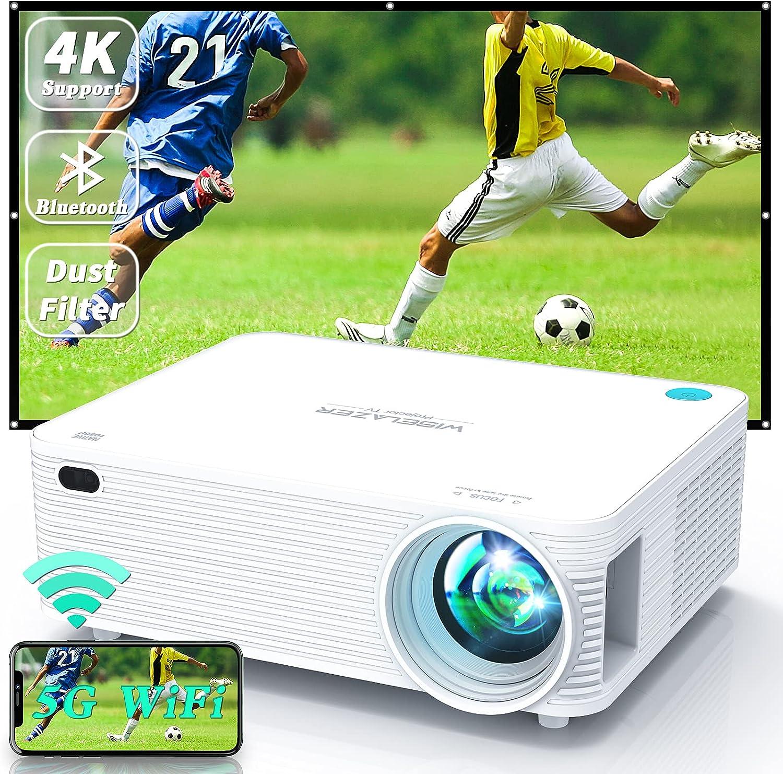 WISELAZER 4k Projector 9500Lm