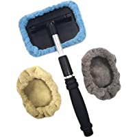Polyte - Limpiador de parabrisas con cabezal pivotante