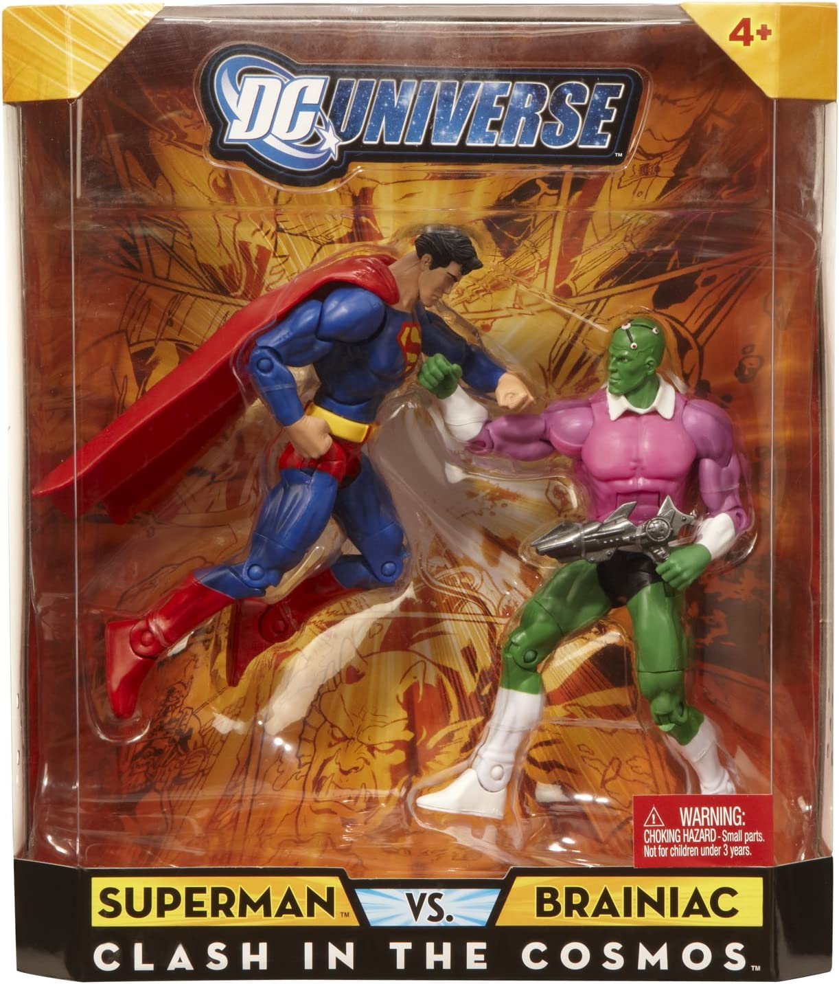 DC Universe Infinite Heroes Collector Superman / Brainiac Figures ...
