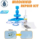 【NEW RERSION】Windshield Repair Kit,Newest Generation Car Windshield Repair Tools with Windshield Repair Resin for Auto Glass Windshield Crack Chip Scratch, Chips, Cracks, Bulll's-Eyes and Stars
