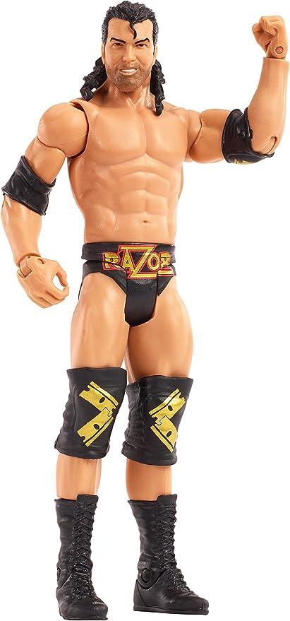 WWE Mattel action figure BASIC WRESTLEMANIA 32 RAZOR RAMON Hall toy Wrestling