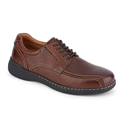 Dockers Mens Maclaren Leather Dress Casual Oxford Shoe | Oxfords