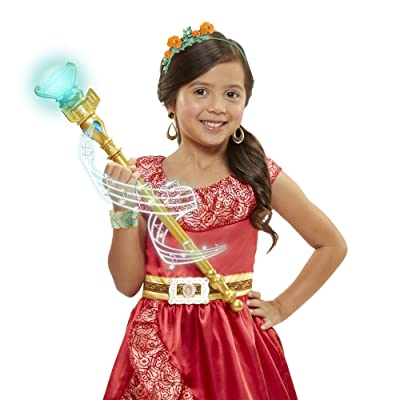 Disney Elena Of Avalor Magical Scepter of Light with Sounds: Toys & Games