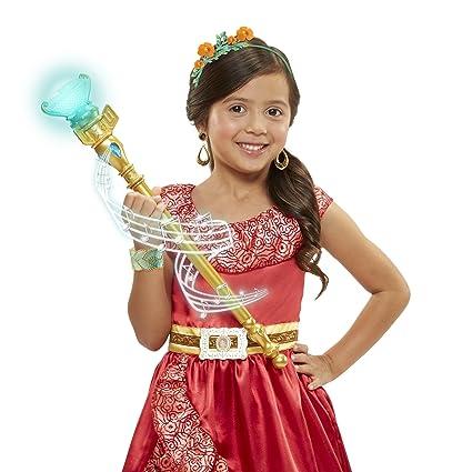 1986f3e33953 Amazon.com: Disney Elena of Avalor Magical Scepter of Light with Sounds:  Toys & Games