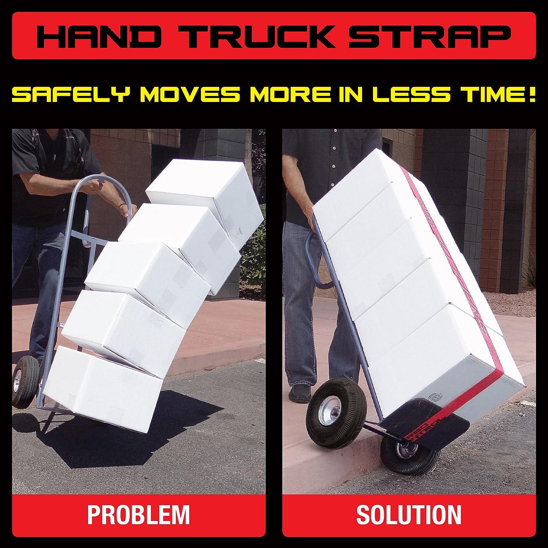 with Hook /& Loop Storage Fastener Snap-Loc SLTC215DR HAND TRUCK STRAP 2x15 USA!